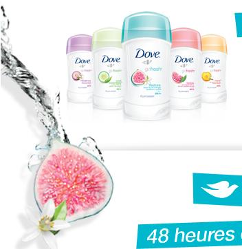 Antisudorifique Dove À 0.49$ (Après Coupon)