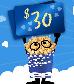 Concours Kernels : Gagnez Une Carte Cadeau De 30$