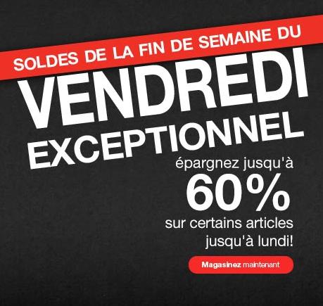 Rabais De 60% Sur Vos Achats Chez Sears!