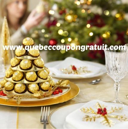 Gagnez Plein De Prix Ferrero Rocher!!