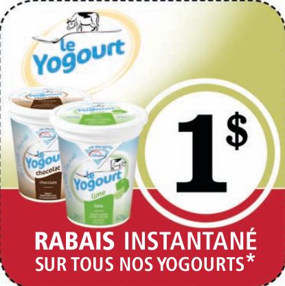 Coupon À Imprimer  De 1$ Sur Les Yogourts Damafro!