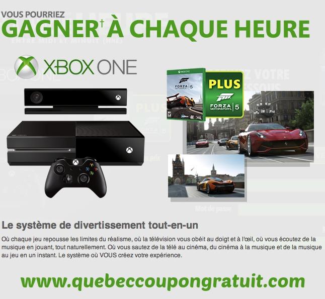 Concours Mountain Dew : Gagnez Un Xbox One Gratuit!!