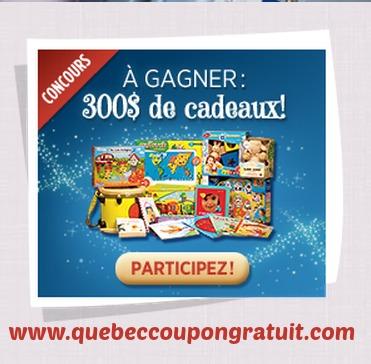 Concours Naître Et Grandir : Gagnez 300$ De Cadeaux Gratuits!