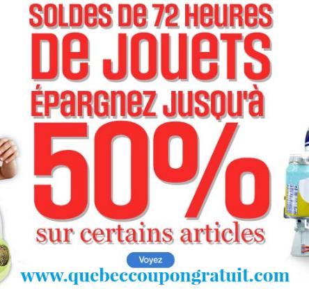 Rabais De 50% Sur Les Jouets Chez Sears!