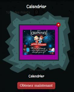 Gratuit : Obtenez Un Calendrier Chapman's Gratuit!