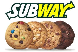 Obtenez Un Biscuit Gratuit Chez Subway!!