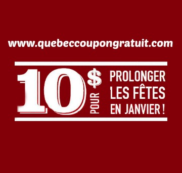 Coupon Rabais De 10$ Chez Boston Pizza Québec