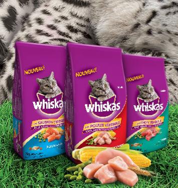 Echantillons Gratuits De Nourriture Pour Chats Whiskas