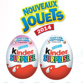 Concours Kinder : Gagnez Un Emballage De 3Oeufs Kinder Surprise