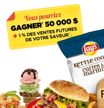 Concours Lay's : Gagnez 50 000$ !!