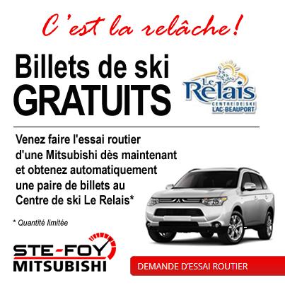 Billets De Ski Gratuits Au Centre De Ski Le Relais!!