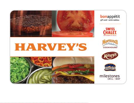 Gagnez Une Carte-Cadeau Harvey's De 100$ !!