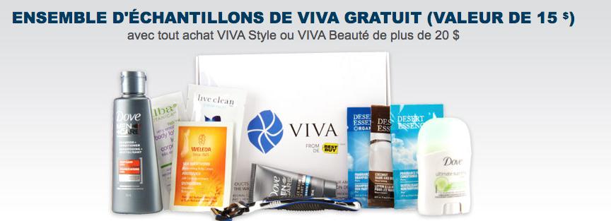 Echantillons Gratuits De Viva Chez Best Buy !!