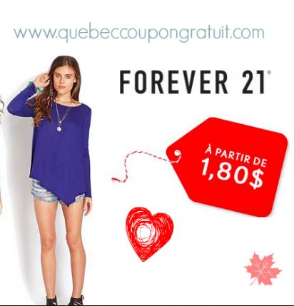 Magasinez À 1,80$ Chez Forever 21 !!