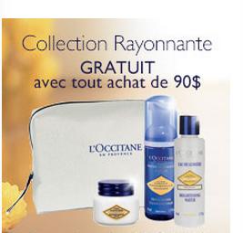 Obtenez 3 Produits Gratuits Par L'occitane !!