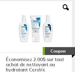 coupon rabais Cerave sur Gocoupons.ca