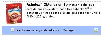 Coupon Rabais Orville