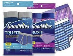 goodnites-coupon-rabais