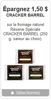 Coupon rabais Cracker Barrel