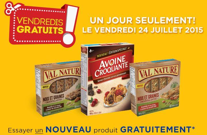 coupon rabais Walmart : Obtenez Un produit General Mills GRATUIT