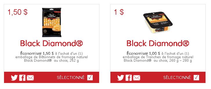 les coupons rabais BLACK DIAMOND