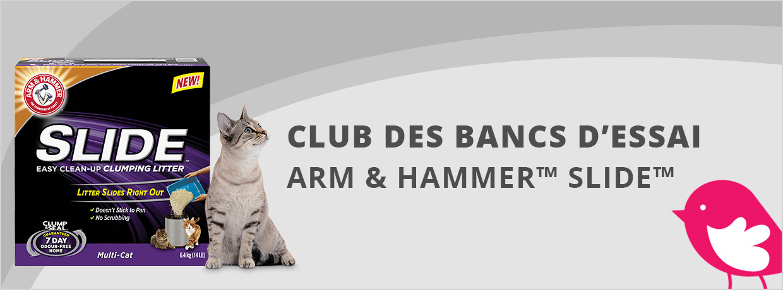 Testez La Litière À Chat Slide De Arm & Hammer