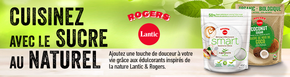Coupon Rabais Lantic & Rogers